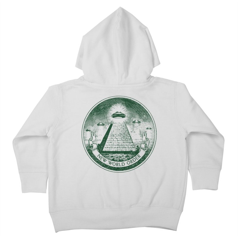 New World Order Kids Toddler Zip-Up Hoody by Propaganda Department