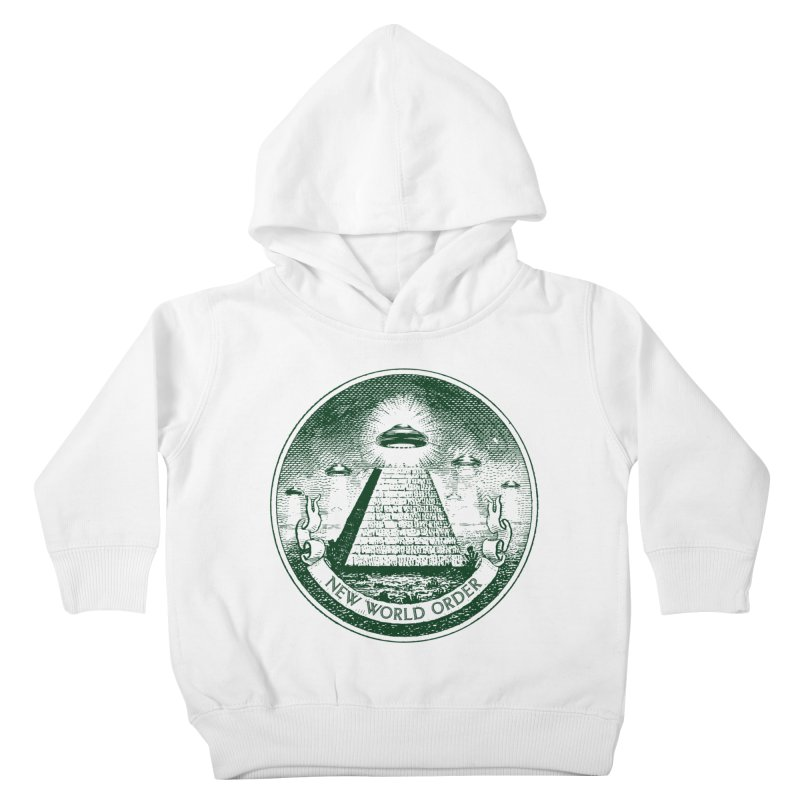 New World Order Kids Toddler Pullover Hoody by Propaganda Department