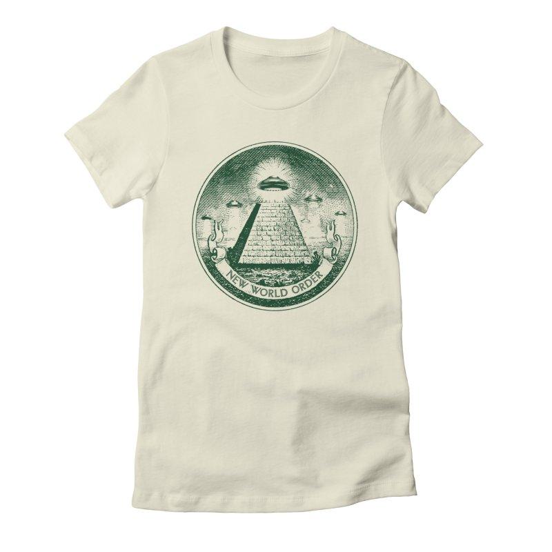 New World Order Women's T-Shirt by Propaganda Department