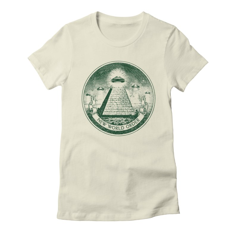 New World Order Women's Fitted T-Shirt by Propaganda Department