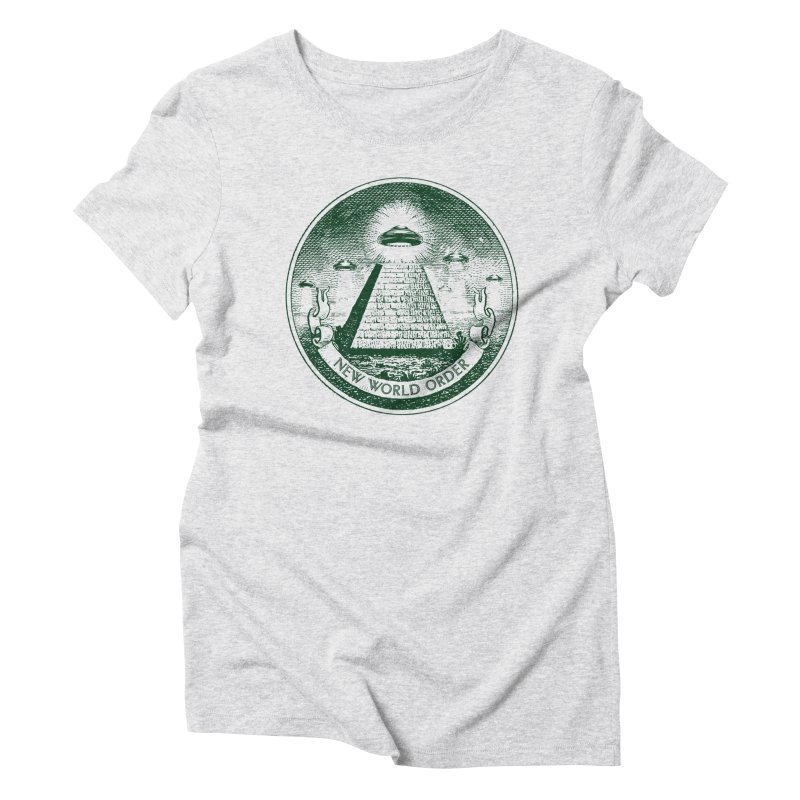 New World Order Women's Triblend T-Shirt by Propaganda Department
