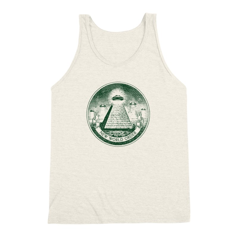 New World Order Men's Triblend Tank by Propaganda Department