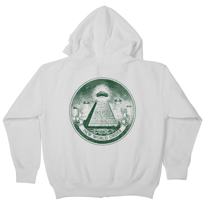 New World Order Kids Zip-Up Hoody by Propaganda Department