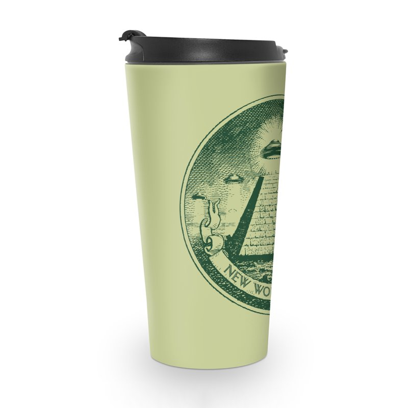 New World Order Accessories Travel Mug by Propaganda Department