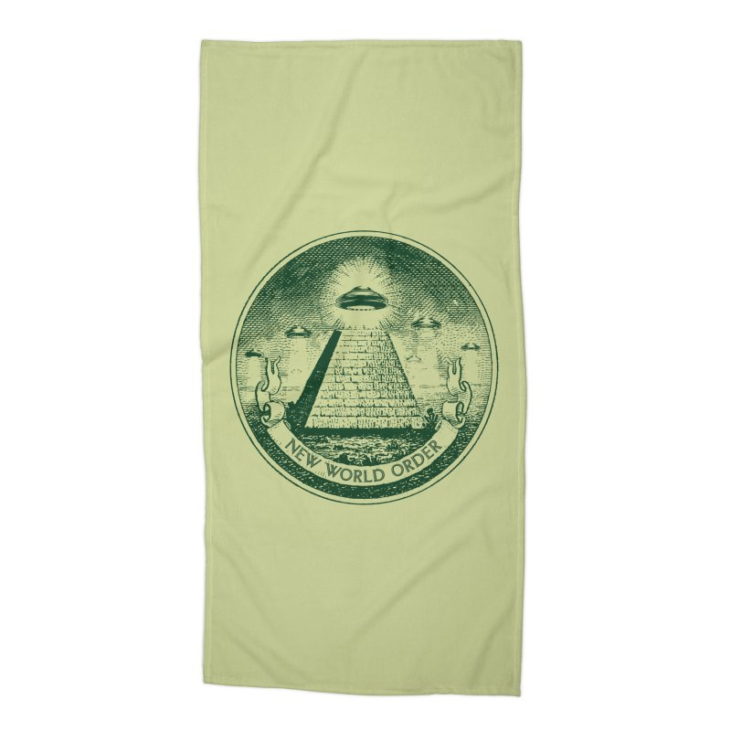 New World Order Accessories Beach Towel by Propaganda Department