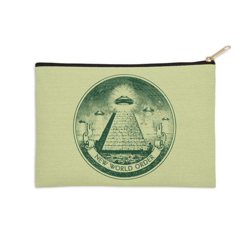 New World Order Accessories Zip Pouch by Propaganda Department