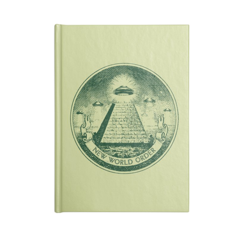 New World Order Accessories Blank Journal Notebook by Propaganda Department