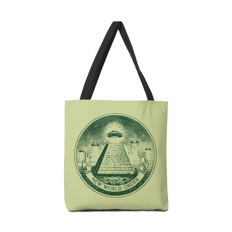 New World Order Accessories Tote Bag Bag by Propaganda Department