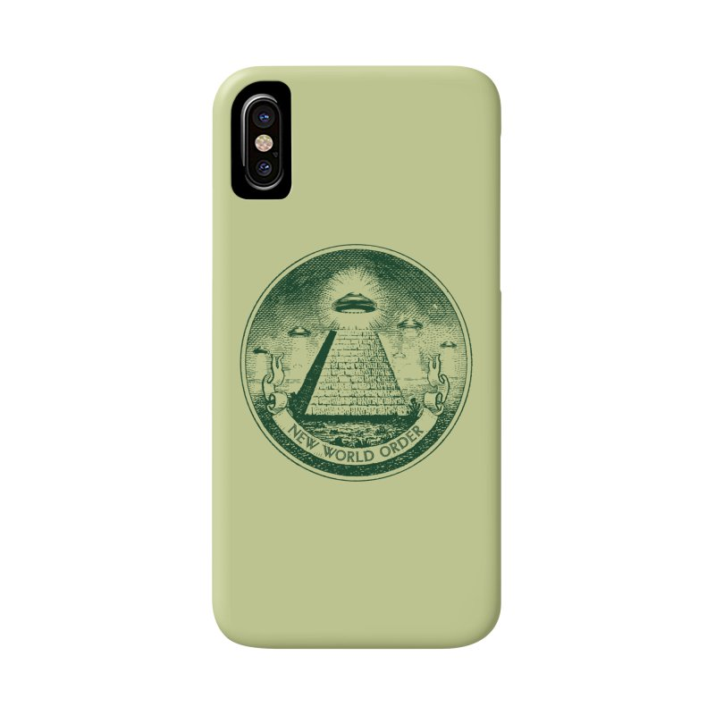 New World Order Accessories Phone Case by Propaganda Department