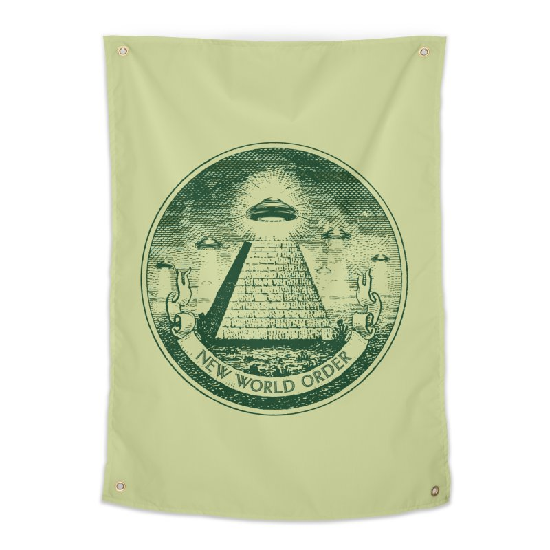 New World Order Home Tapestry by Propaganda Department
