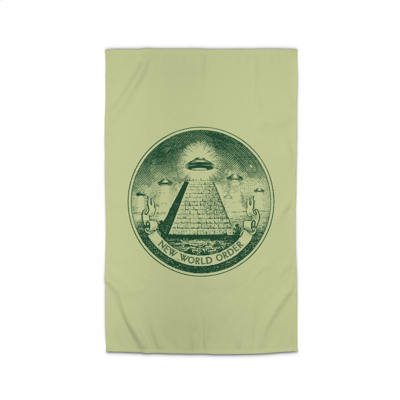 New World Order Home Rug by Propaganda Department