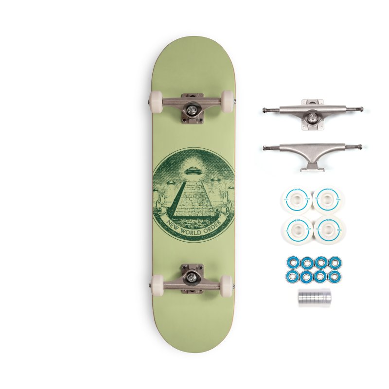 New World Order Accessories Skateboard by Propaganda Department