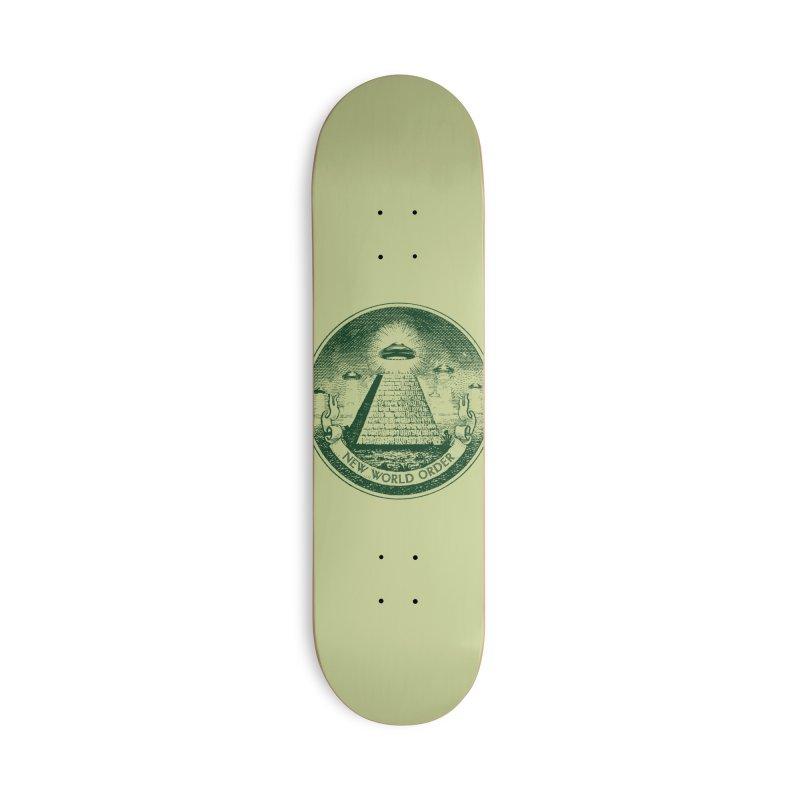 New World Order Accessories Skateboard by Propaganda Department