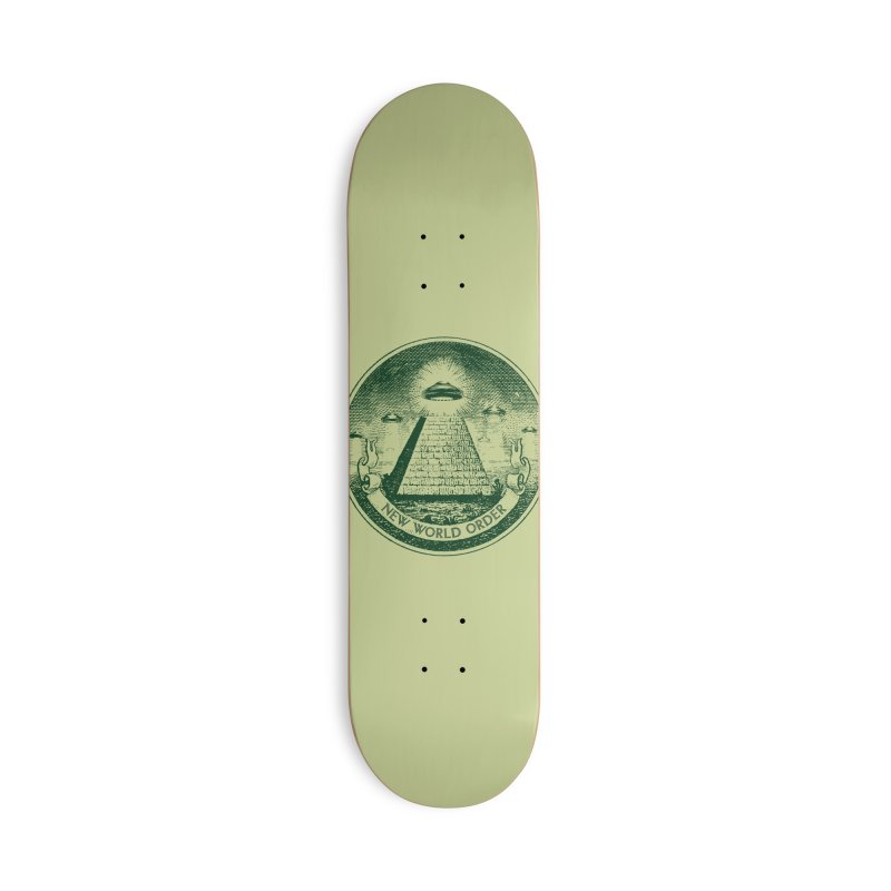 New World Order Accessories Deck Only Skateboard by Propaganda Department