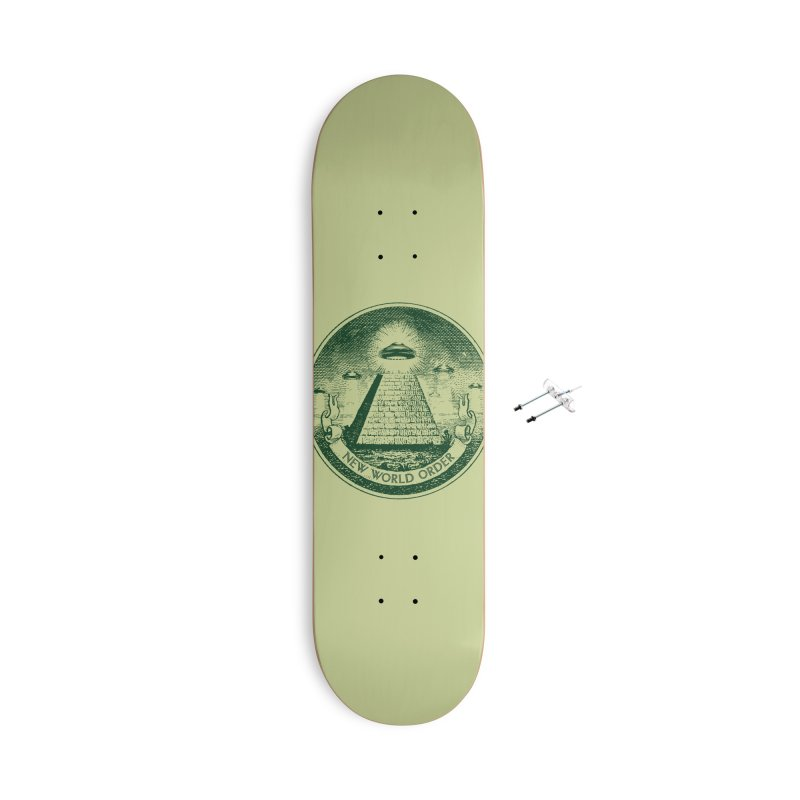 New World Order Accessories With Hanging Hardware Skateboard by Propaganda Department