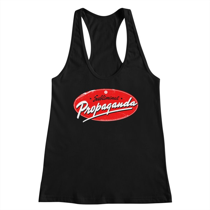 Subliminal Propaganda Women's Tank by Propaganda Department