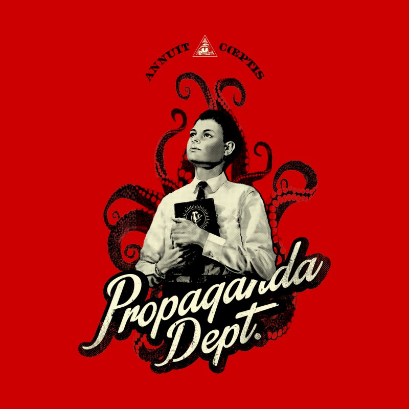 In The Sign Of The Octopus Women's Tank by Propaganda Department
