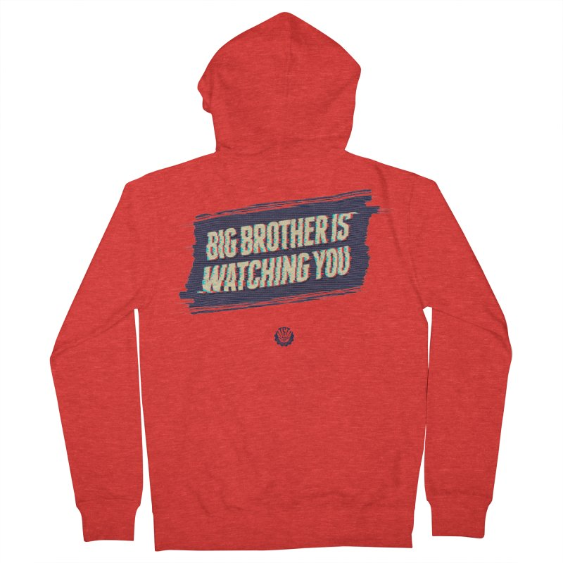 Big Brother is Watching You Men's Zip-Up Hoody by Propaganda Department
