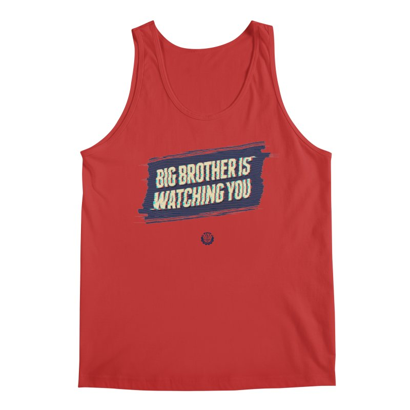 Big Brother is Watching You Men's Tank by Propaganda Department