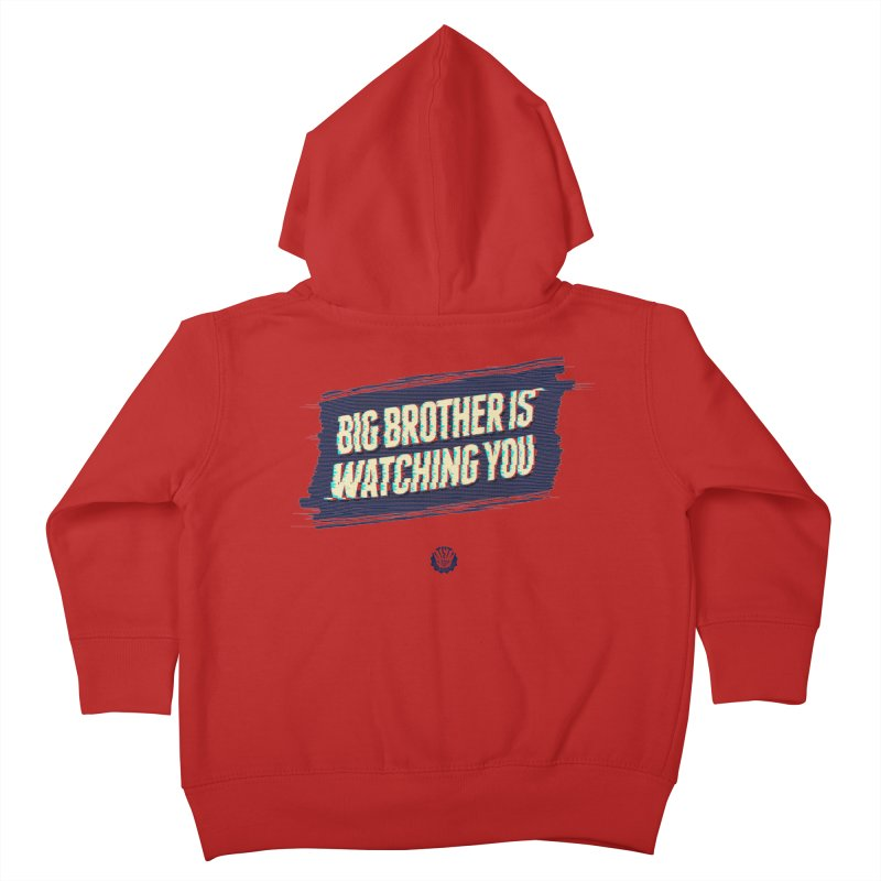 Big Brother is Watching You Kids Toddler Zip-Up Hoody by Propaganda Department
