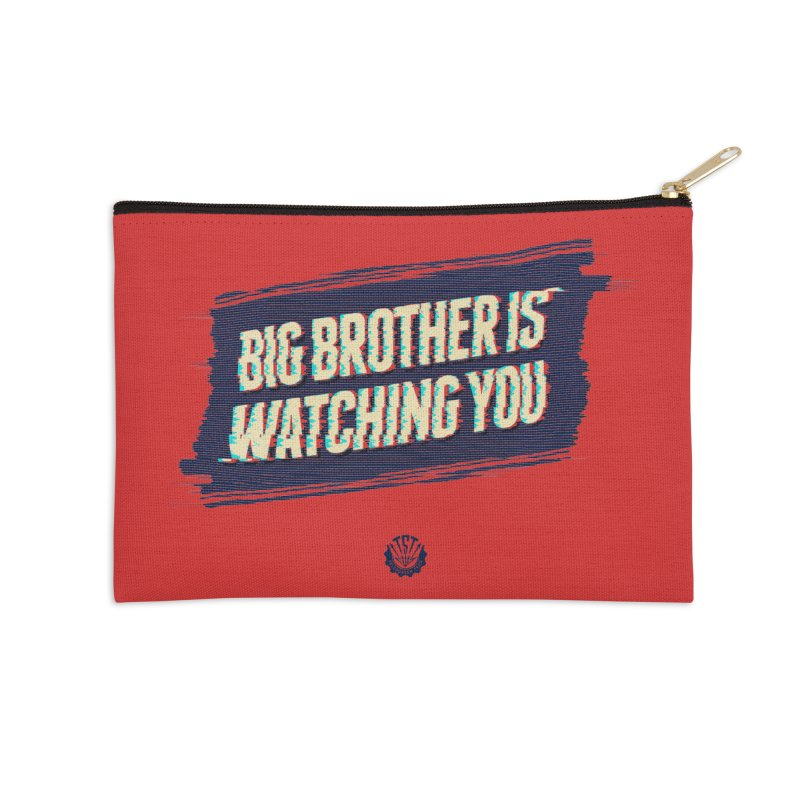 Big Brother is Watching You Accessories Zip Pouch by Propaganda Department