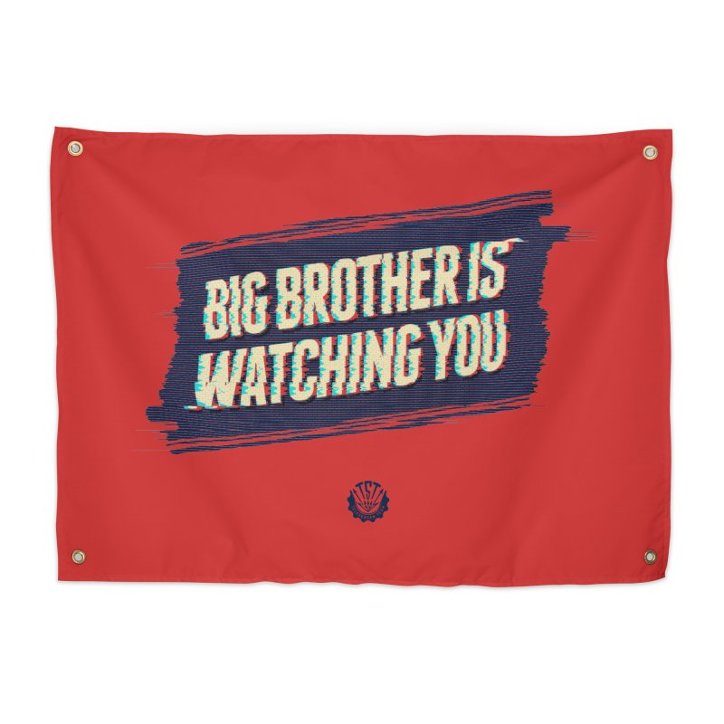 Big Brother is Watching You Home Tapestry by Propaganda Department