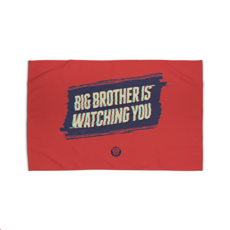 Big Brother is Watching You Home Rug by Propaganda Department