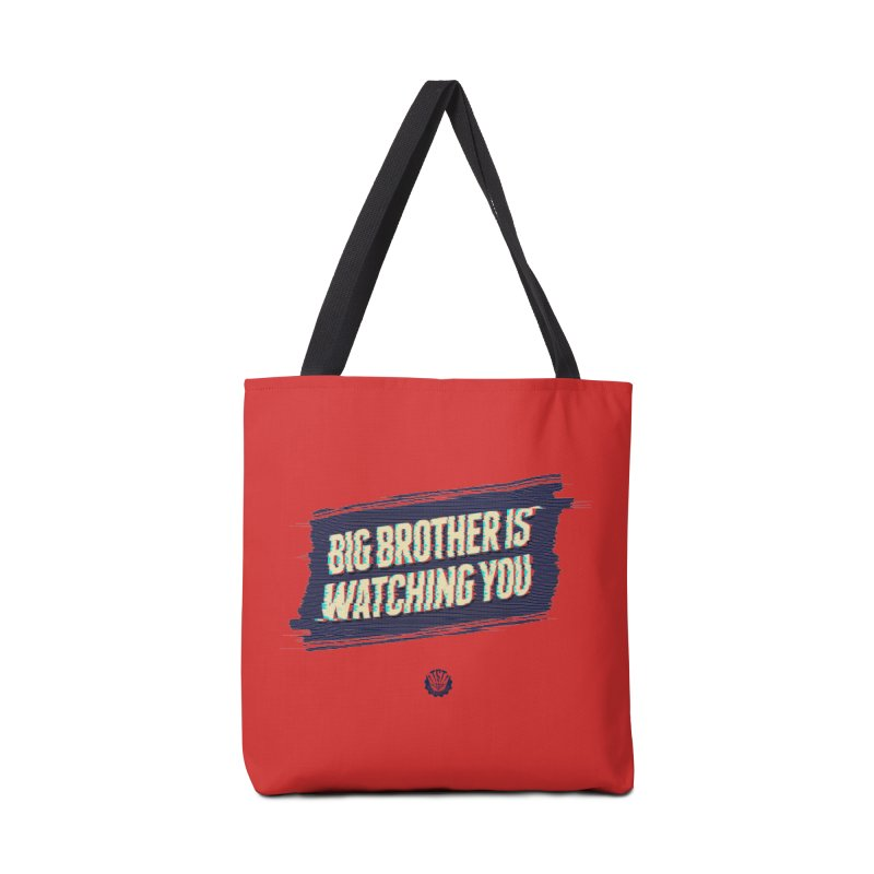 Big Brother is Watching You Accessories Tote Bag Bag by Propaganda Department