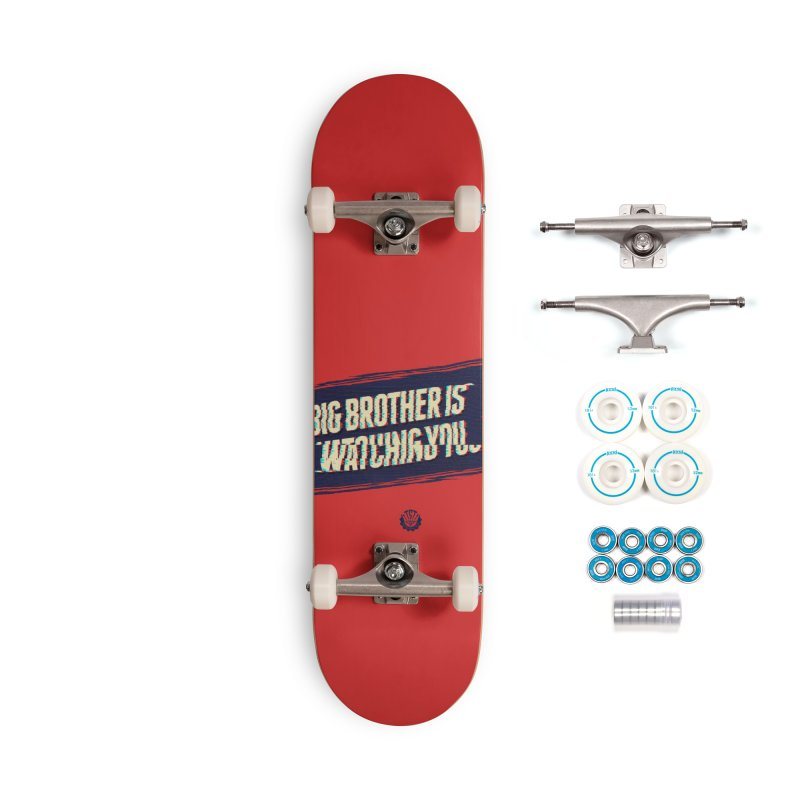 Big Brother is Watching You Accessories Skateboard by Propaganda Department