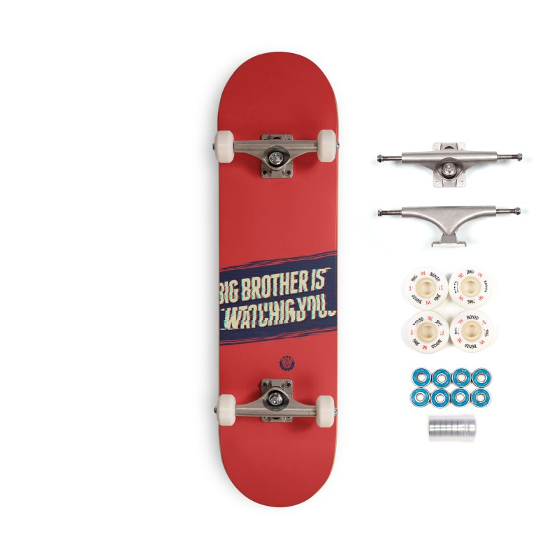 Big Brother is Watching You Accessories Complete - Premium Skateboard by Propaganda Department