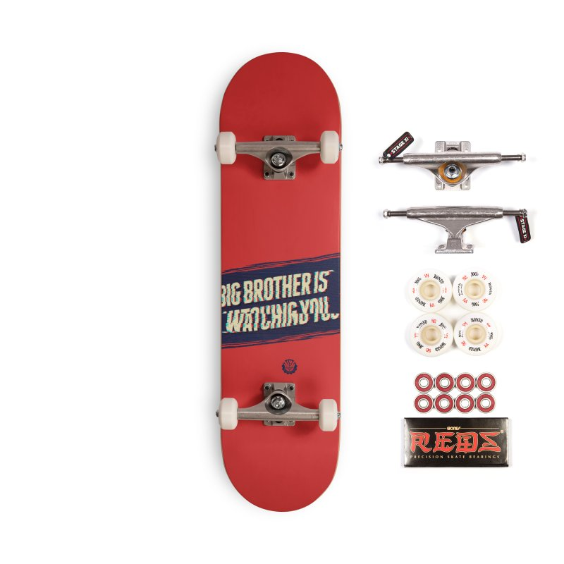 Big Brother is Watching You Accessories Complete - Pro Skateboard by Propaganda Department