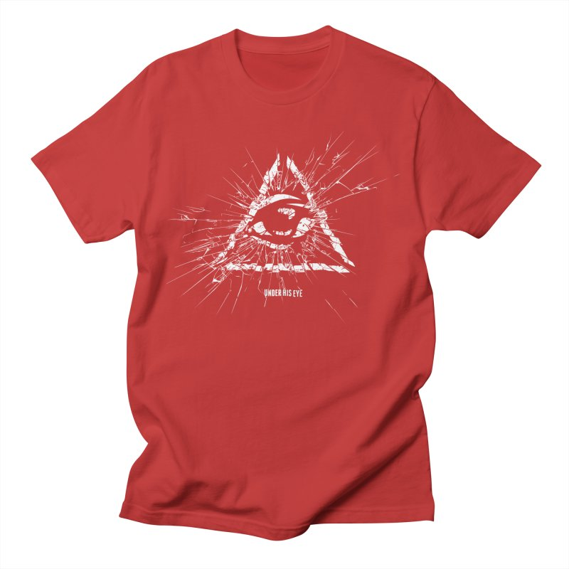 Under his eye Men's T-Shirt by Propaganda Department