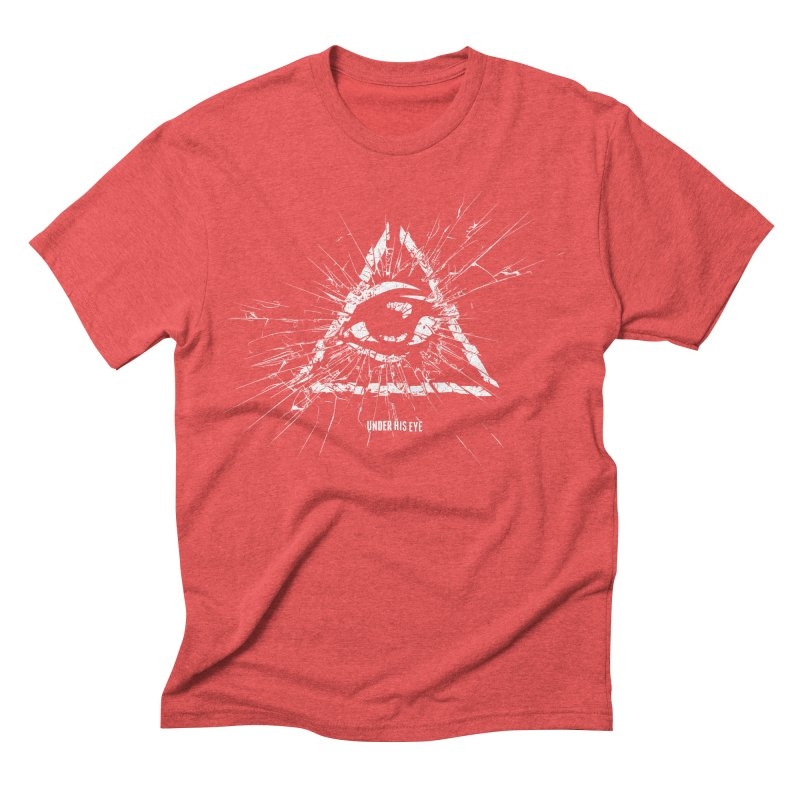 Under his eye Men's Triblend T-Shirt by Propaganda Department