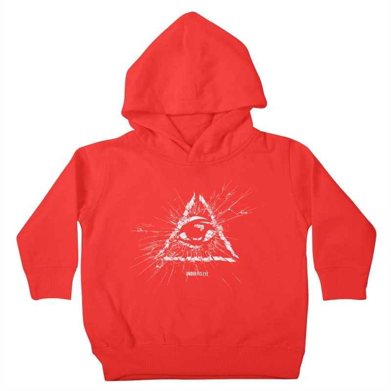 Under his eye Kids Toddler Pullover Hoody by Propaganda Department