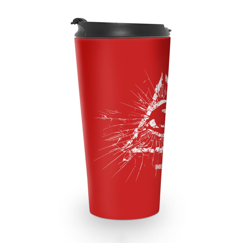 Under his eye Accessories Travel Mug by Propaganda Department