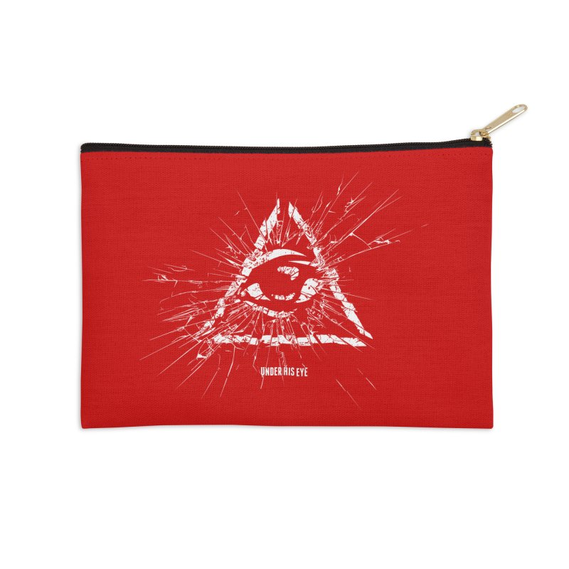 Under his eye Accessories Zip Pouch by Propaganda Department