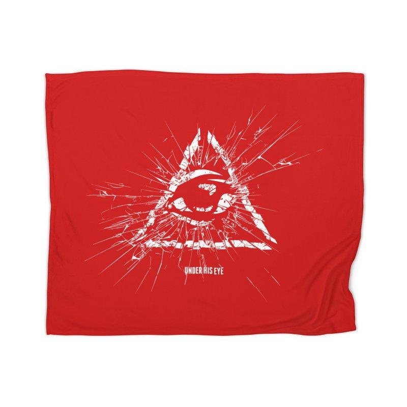 Under his eye Home Blanket by Propaganda Department