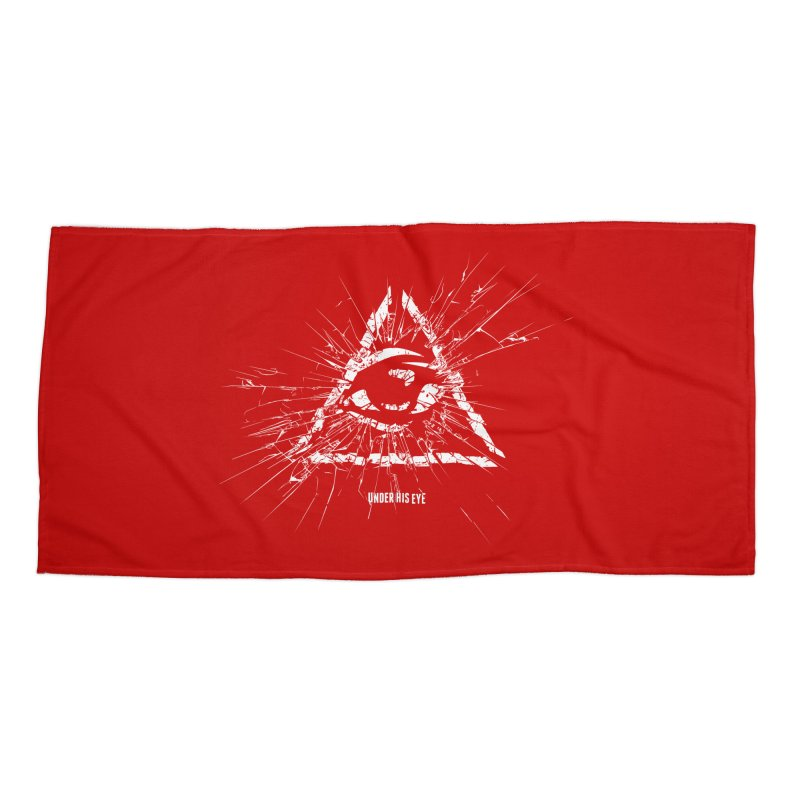 Under his eye Accessories Beach Towel by Propaganda Department