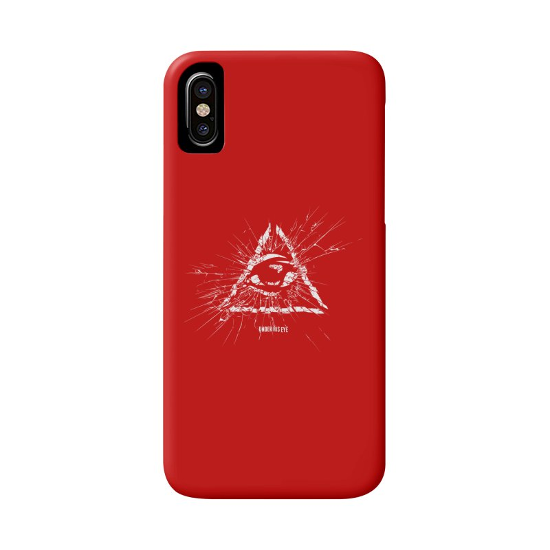 Under his eye Accessories Phone Case by Propaganda Department