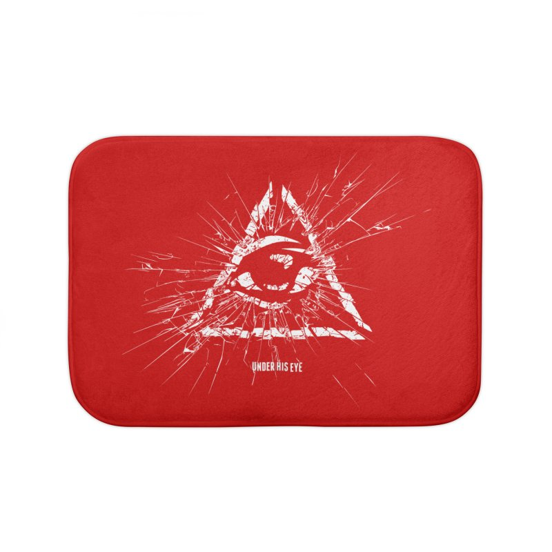 Under his eye Home Bath Mat by Propaganda Department