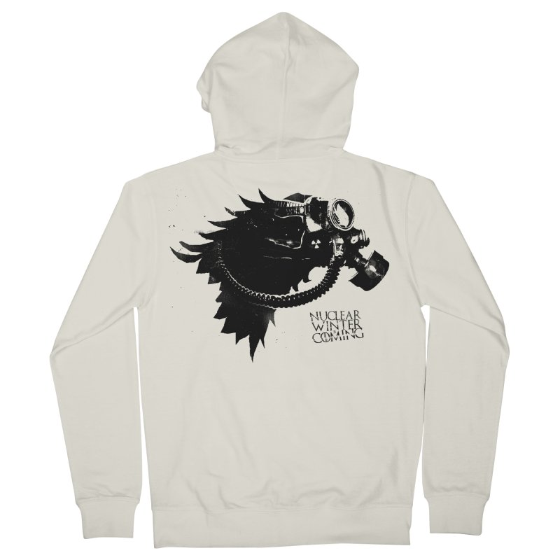 Fallout game of throne Men's Zip-Up Hoody by Propaganda Department