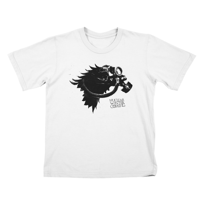 Fallout game of throne Kids T-Shirt by Propaganda Department
