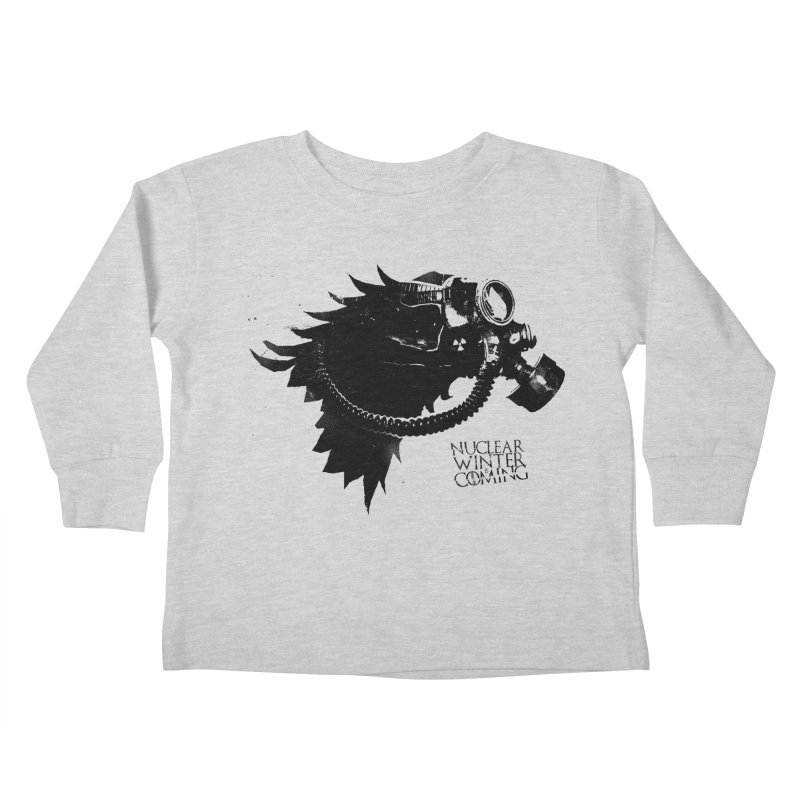 Fallout game of throne Kids Toddler Longsleeve T-Shirt by Propaganda Department