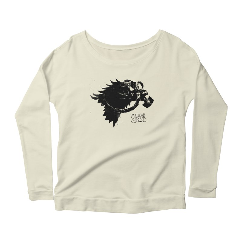 Fallout game of throne Women's Longsleeve Scoopneck  by Propaganda Department