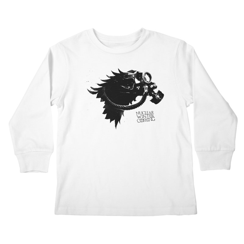 Fallout game of throne Kids Longsleeve T-Shirt by Propaganda Department