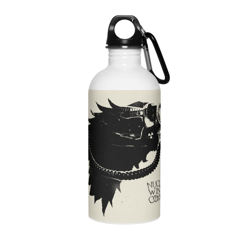 Fallout game of throne Accessories Water Bottle by Propaganda Department