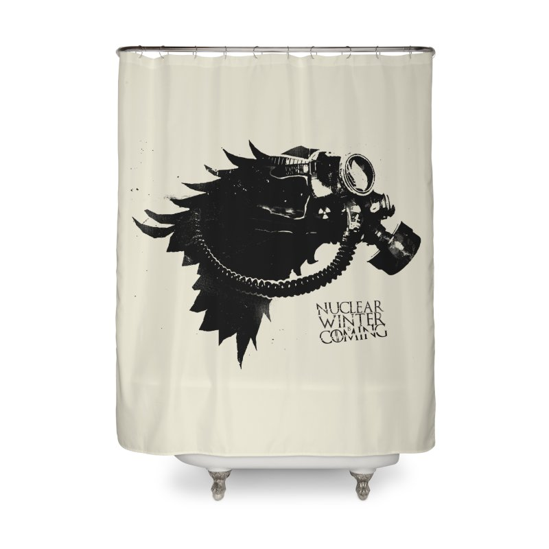 Fallout game of throne Home Shower Curtain by Propaganda Department