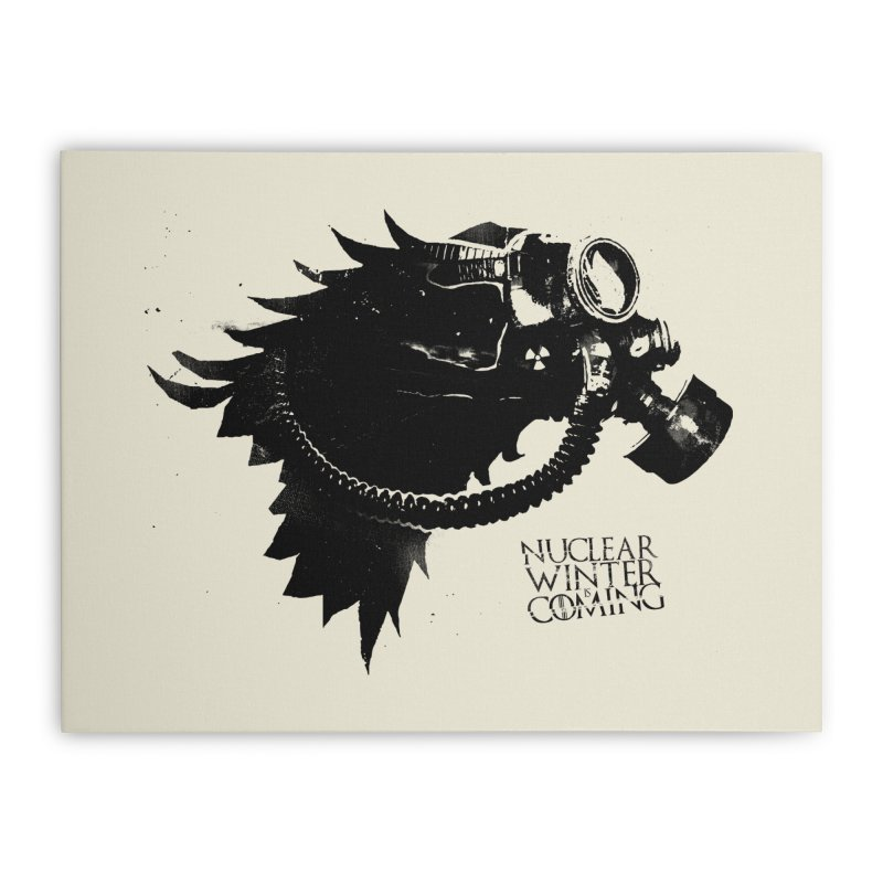 Fallout game of throne Home Stretched Canvas by Propaganda Department