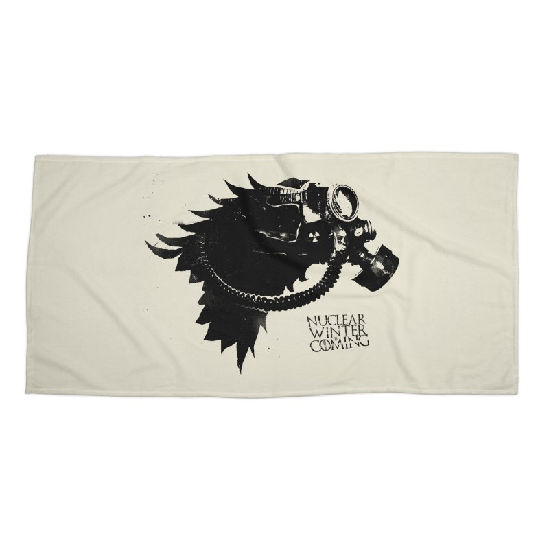 Fallout game of throne Accessories Beach Towel by Propaganda Department