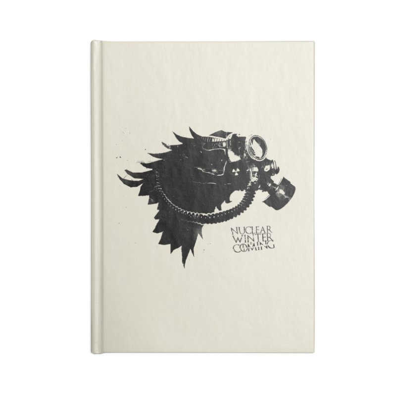 Fallout game of throne Accessories Notebook by Propaganda Department